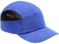 Čepice s plastovou výztuhou SM923, středně modrá