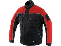 Jacket ORION OTAKAR, men´s, black-red