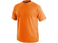 Tričko CXS DANIEL, krátký rukáv, oranžové