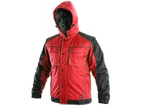 Men ́s padded jacket 2in1 IRVINE, winter, men´s, red-black