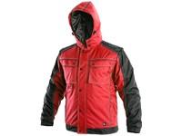 Pánská zimní bunda IRVINE, červeno-černá