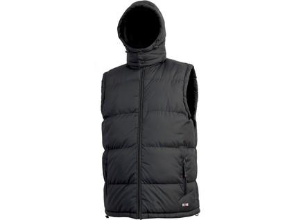 Pánská zimní vesta PIERRE, černá, vel. 2XL - 10220_1310 005 800 00 PIERRE