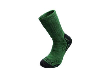 Zimní ponožky FOREST, zelené, vel. 46