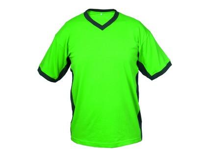 Pánské tričko s krátkým rukávem SIRIUS THERON, zeleno-šedé, vel. L - 10376_2_2717-BBVV