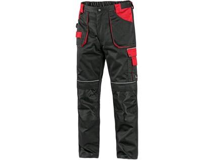 Pánské kalhoty ORION TEODOR, černo-červené, vel. 64 - 10491_1020 003 805 00 TEODOR