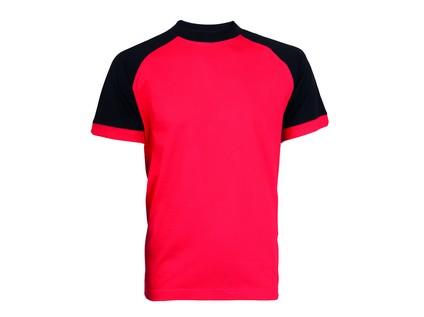Tričko s krátkým rukávem OLIVER, červeno-černé - 10754_2_78. 2714-CCVV