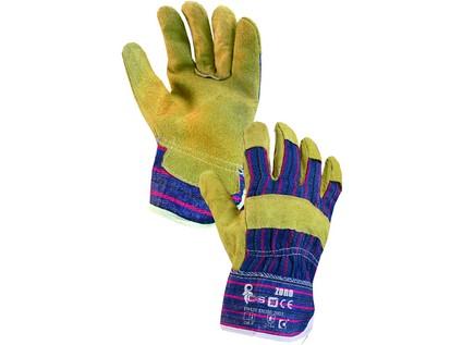 Kombinované rukavice ZORO, vel. 09