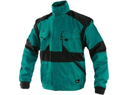 Pánská zimní blůza CXS LUXY HUGO, zeleno-černá - 11714_1010 006 510 00 EDA