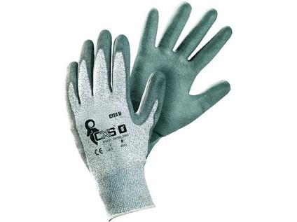Protipořezové rukavice CITA II, šedé, vel. 09