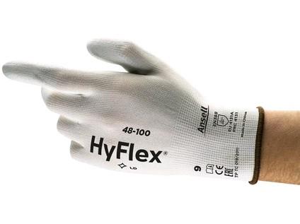 Povrstvené rukavice ANSELL HYFLEX 48-100. vel. 08