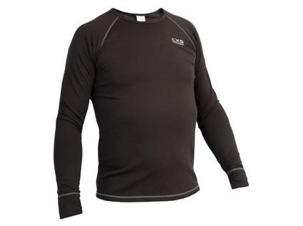 Pánské funkční tričko ACTIVE, dl. rukáv, šedé, vel. S