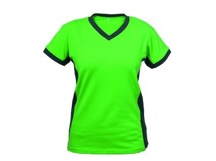 Dámské tričko s krátkým rukávem SIRIUS THEA, zeleno-šedé - 12740_2_2718-BBVV