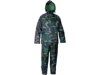 Voděodolný oblek CXS PROFI. maskáčový. vel. 2XL