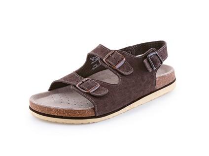 Obuv sandál CXS CORK FILL, dámský, s páskem, hnědý vel. 39