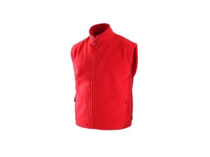 Pánská fleecová vesta UTAH, červená, vel. S