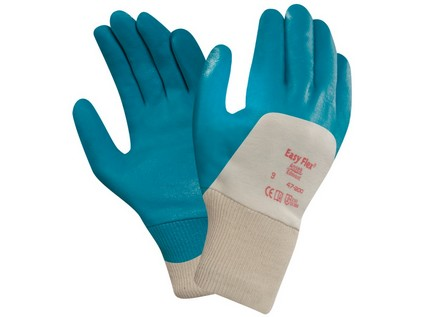Povrstvené rukavice ANSELL EASY FLEX 47-200. vel. 09