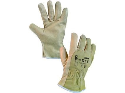 Kožené rukavice ASTAR, vel. 10