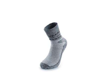 Zimní ponožky SKI, šedé, vel. 45