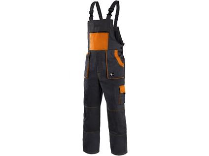 Pánské zahradníky CXS LUXY ROBIN, černo-oranžové - 14088_1030 006 803 00 EMIL