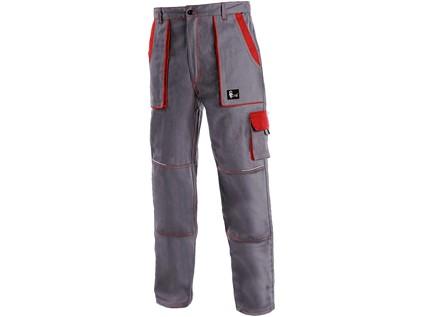 Pánské kalhoty CXS LUXY JOSEF, šedo-červené - 14211_1020 006 705 00 JOSEF