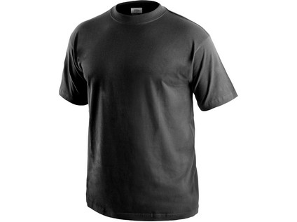 Tričko s krátkým rukávem DANIEL, černé - 14616_1610 001 800 00 DANIEL