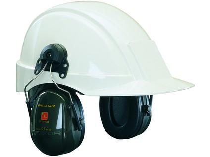 Mušlové chrániče sluchu s úchyty na přilbu 3M PELTOR H520P3E-410-GQ