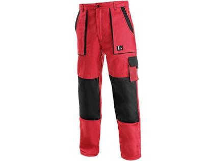 Pánské kalhoty CXS LUXY JOSEF, červeno-černé - 14863_1020 006 260 00 JOSEF NOVE