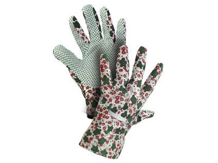 Textilní rukavice TABLA. s PVC terčíky. vel. 08