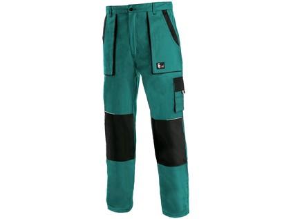 Pánské kalhoty CXS LUXY JOSEF, zeleno-černé - 16139_1020 006 510 00 JOSEF