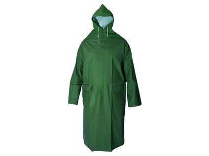 Voděodolný plášť CXS DEREK. zelený. vel. 4XL