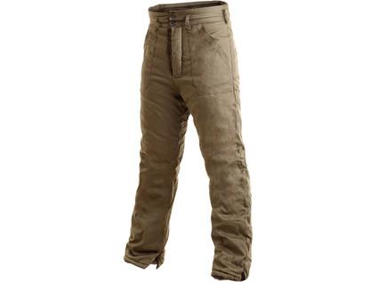 Pánské zimní kalhoty JUNA, khaki, vel. 66