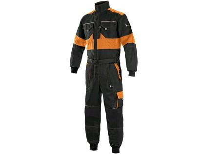 Pánská kombinéza CXS LUXY ROBERT, černo-oranžová - 16600_1040 006 803 00 ROBERT