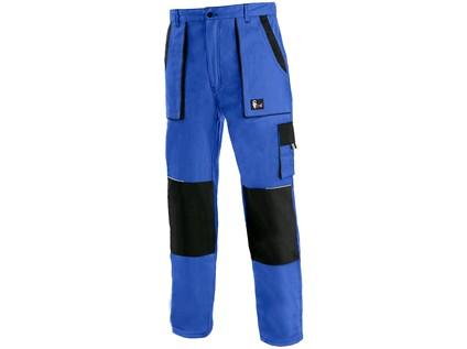 Pánské prodloužené kalhoty CXS LUXY JOSEF, modro-černé - 16616_1020 007 411 00 JOSEF