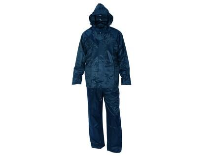 Voděodolný oblek CXS PROFI. modrý. vel. 2XL