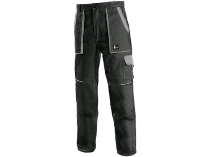 Pánské kalhoty CXS LUXY JOSEF, černo-šedé - 17015_1020 006 810 00 JOSEF