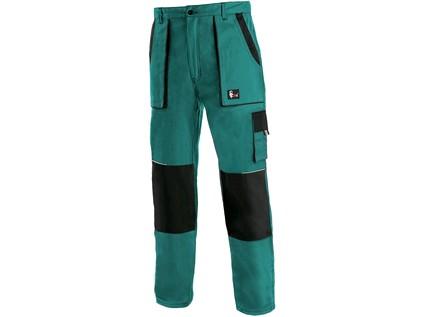 Pánské prodloužené kalhoty CXS LUXY JOSEF, zeleno-černé - 17391_1020 007 510 00 JOSEF