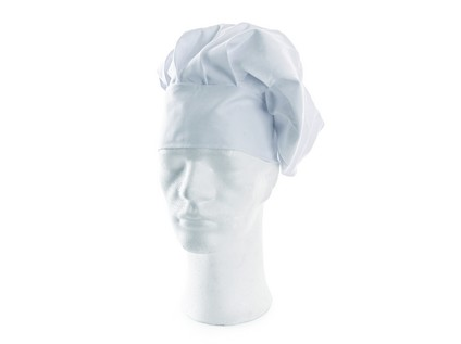 Kuchařský baret LUDVA, bílý