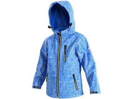 Dětská softshell bunda DERBY, modrá - 1922_1230 020 400 00 DERBY