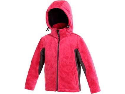 Dětská softshell bunda DOVE, růžovo-šedá - 2433_1230 023 309 00 DOVE