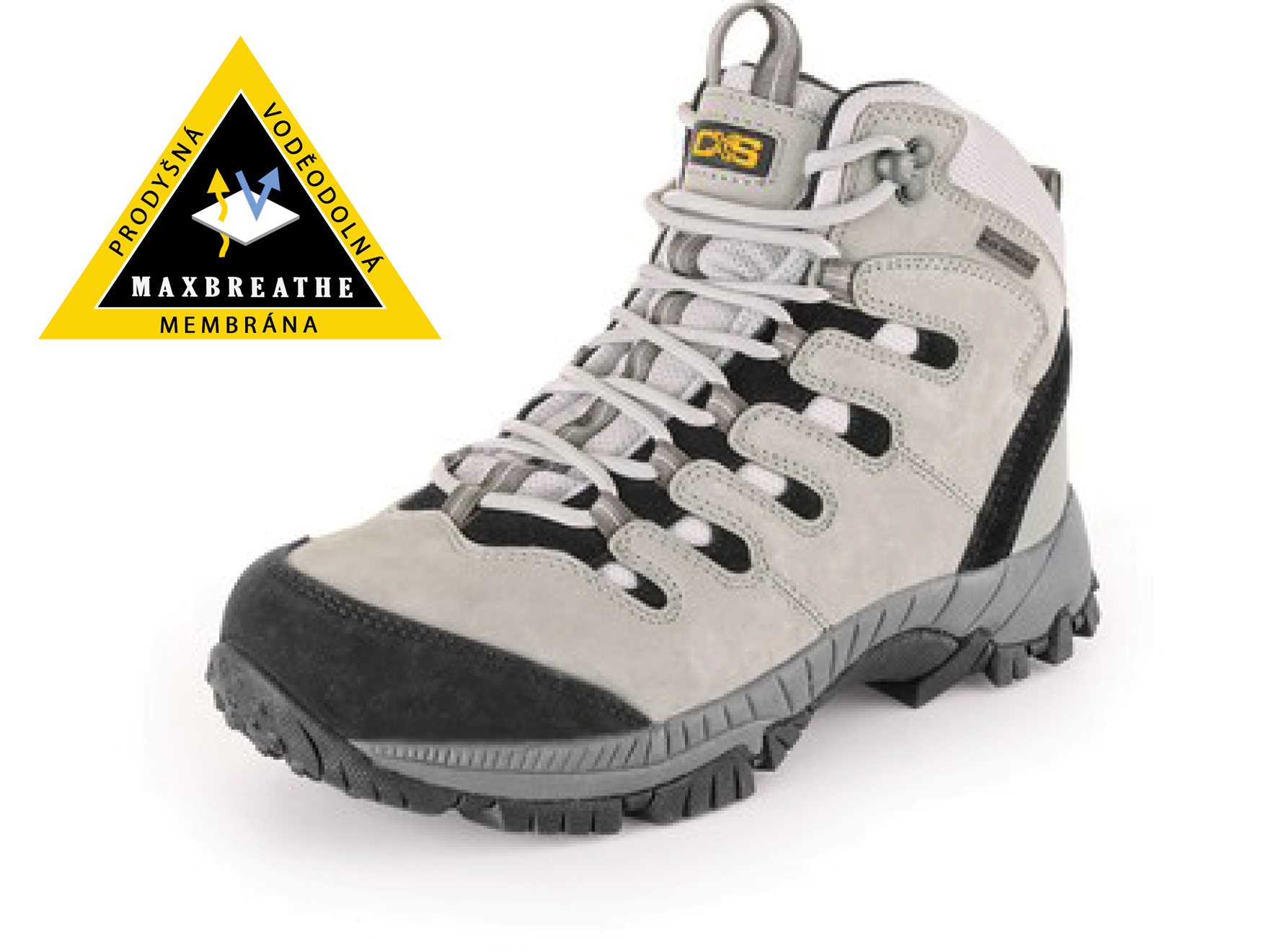 Kotníková treková obuv GOTEX MOUNT MCKINLEY, černo-šedá - 27480_2210 016 710 00 MOUNT MCKINLEY