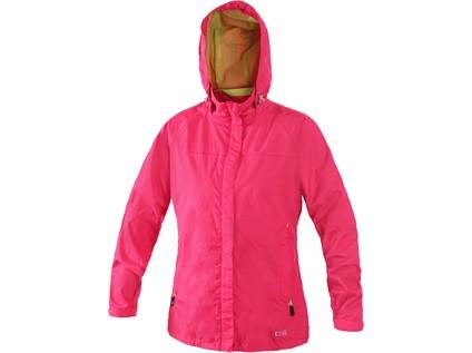 Dámská bunda ONTARIO, růžovo-zelená, vel. L - 28495_1290 067 307 00 ONTARIO_UPRAVENO
