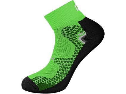 Ponožky SOFT, zelené, vel. 39