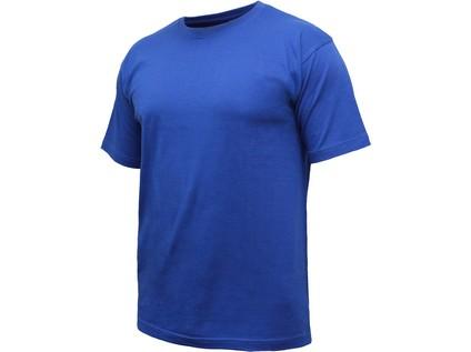 Tričko s krátkým rukávem TIBOR, středně modré - 32899_2770-SMVV