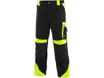 Pánské kalhoty SIRIUS BRIGHTON, černo-žlutá - 38220_1020 001 802 00 SIRIUS BRIGHTON