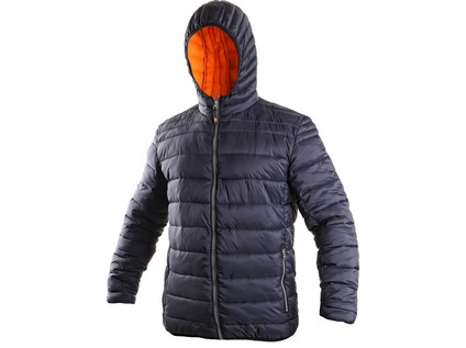Pánská zimní bunda LOUISIANA, modro-oranžová - 39769_1210 081 403 00 LOUISIANA