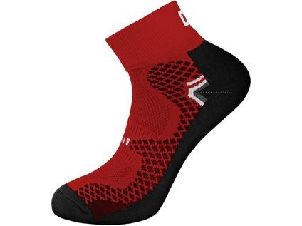 Ponožky SOFT. červené. vel. 45