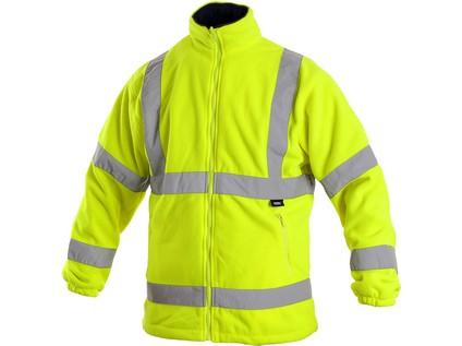 Pánská výstražná bunda PRESTON, žlutá - 40436_1115 023 150 00 PRESTON