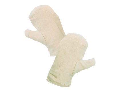 Textilní rukavice DOLI. bílé. vel. 11