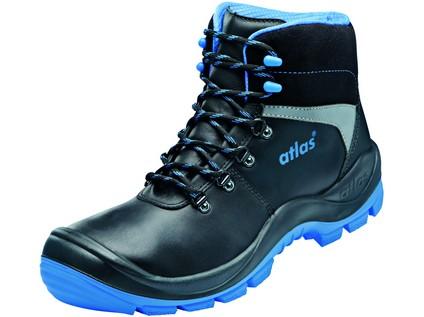 Kotníková obuv ATLAS SL 525 S3 ESD, černo-modrá - 43617_SL525 XP BLUE ESD