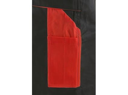 Kraťasy SIRIUS BRIGHTON, pánské, šedo-červené - 44981_1060 001 705 00 SIRIUS BRIGHTON_KAPSA2